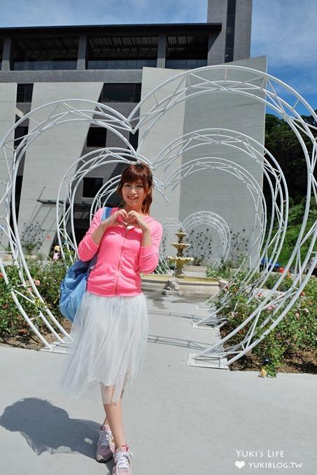 苗栗免費景點遊記【雅聞七里香玫瑰森林】戶外玫瑰森林×玻璃屋點心房~冰淇淋不可錯過