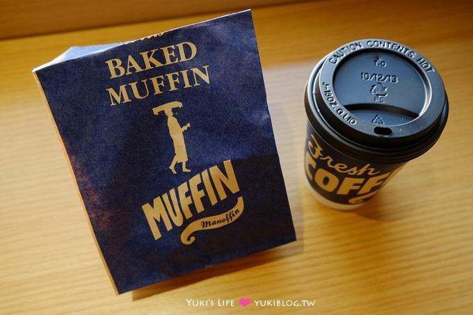 韩国首尔【伦敦COFFEE Manoffin】以玛芬盖子咖啡闻名×速食汉堡随手带着走有点像麦当当早餐 - yukiblog.tw