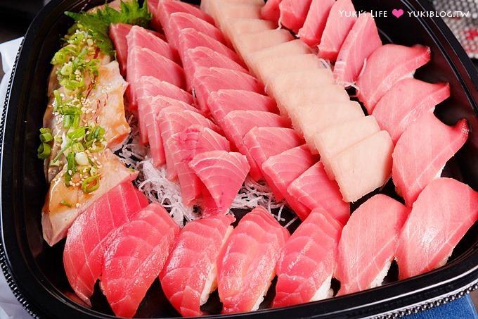板橋美食【順億鮪魚專賣店】平價鮪魚大餐外帶也專業新鮮&再訪食記 @板橋捷運、火車站