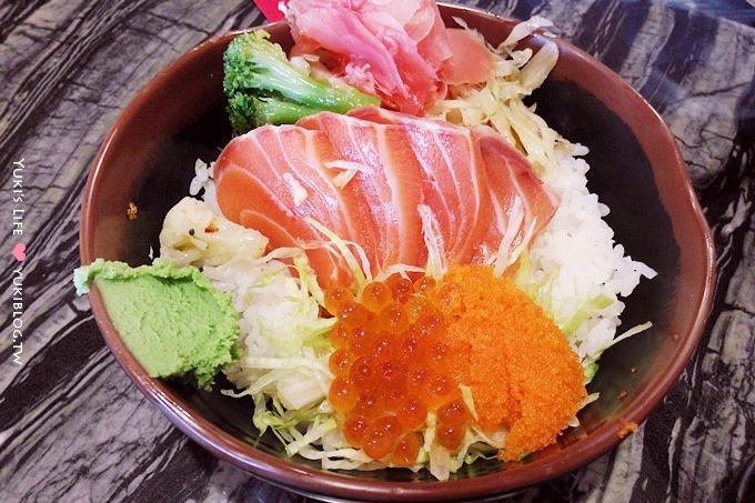 台北美食┃68鮮魚‧淡水竹圍站必吃平價美味生魚丼!(手機ASUS PadFone Infinity隨拍) - yukiblog.tw