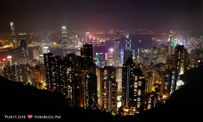 香港自由行【太平山凌霄阁夜景】摩登造型摩天台、360度观景台