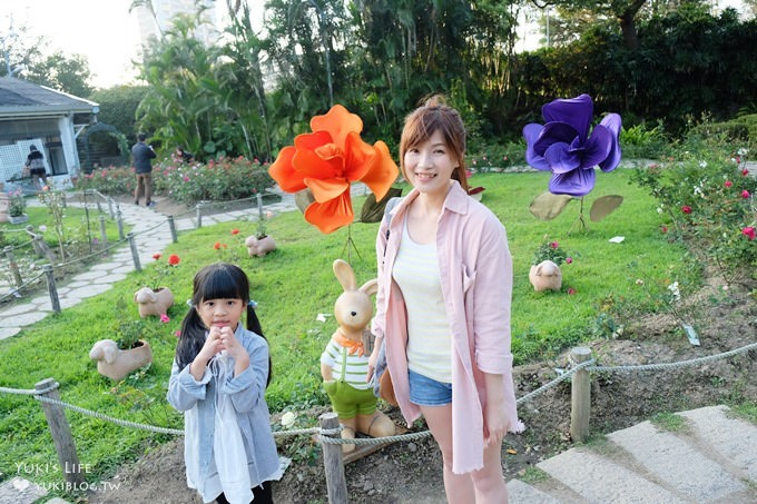 台北免費親子景點【士林官邸公園】玫瑰花園開好開滿×約會拍照下午茶好去處(捷運士林站)