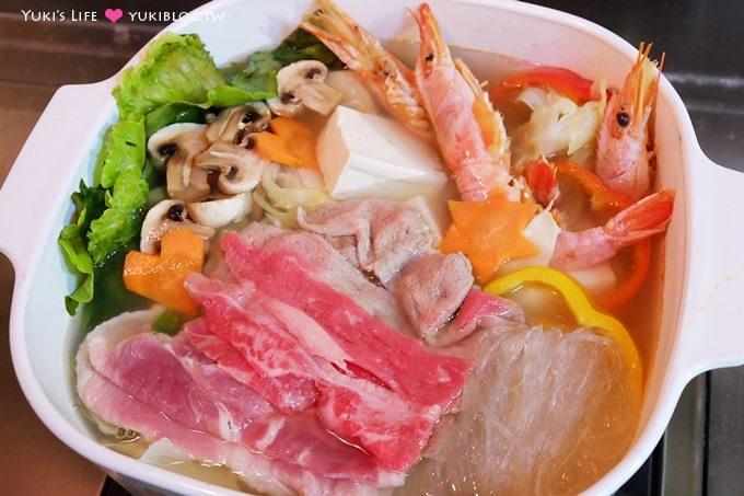 廚房習作【康寶湯塊家庭豪華火鍋】簡單的暖冬聚餐料理~海鮮湯塊是主婦好幫手❤ - yukiblog.tw