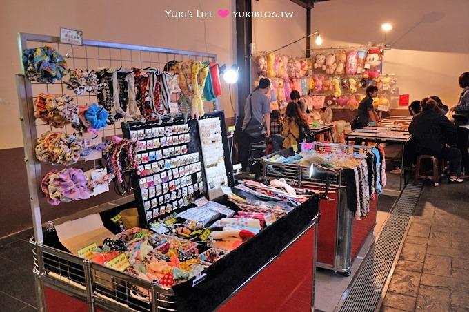 新店安坑【九十九回天天夜市】大型下雨天可逛複合式廣場夜市、有兒童遊樂設施、有公共座位消費較高 - yukiblog.tw