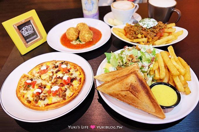 台北【Three Koalas三隻無尾熊】花蓮知名西式餐廳、平價創意學生家庭聚餐早午餐pizza@科技大樓站