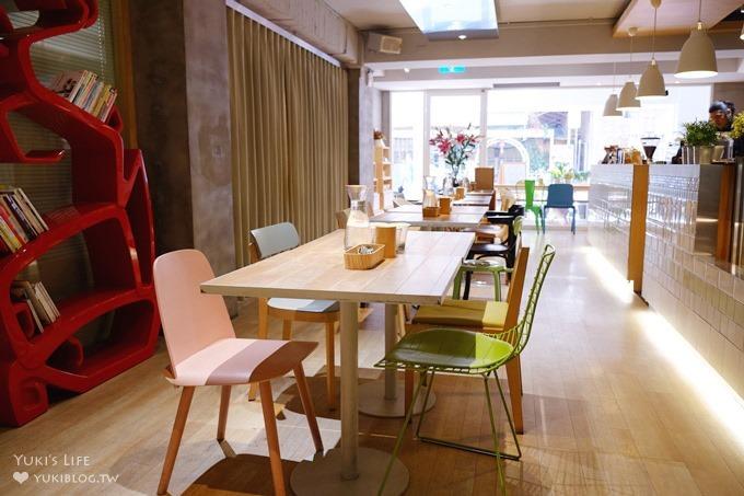 台北【椅子咖啡FABRICA】坐上偉士牌機車椅吃飯/各式椅子主題餐廳(推薦商業午餐)信義安和站 - yukiblog.tw
