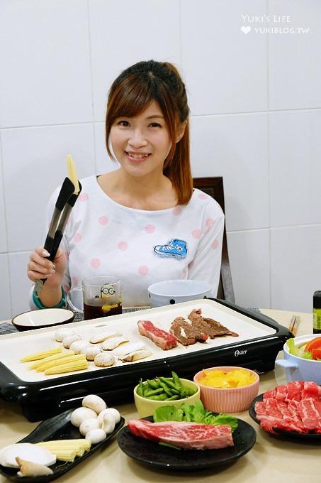【Oster陶瓷電烤盤(BBQ烤盤)】一機多用烤肉×早午餐×親子DIY都方便好用! - yukiblog.tw