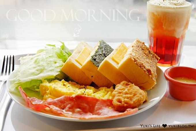 台北美食【丘比手作土司早午餐】超大份量、華山市場另一早餐好選擇 @善導寺站