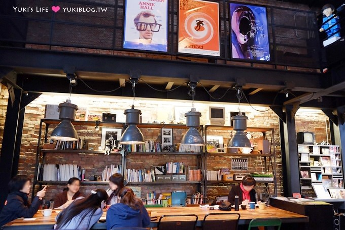 台北下午茶【Offline Cafe 離線咖啡】超低調名人餐廳.光影很美! @華山1914文創園區 - yukiblog.tw