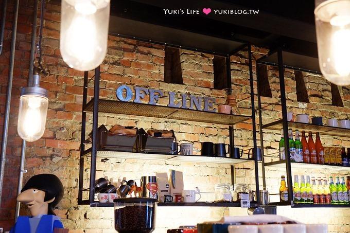 台北下午茶【Offline Cafe 離線咖啡】超低調名人餐廳.光影很美! @華山1914文創園區