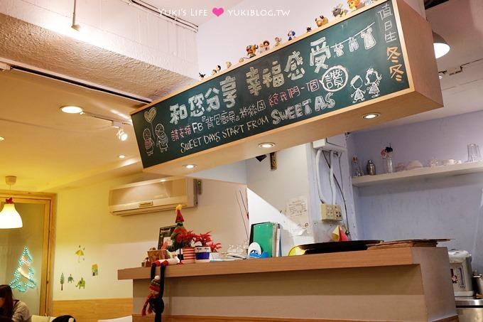 台北美食【Sweet as背包廚房●手工披薩咖啡屋】溫馨小店.超平價 @小南門站、萬華火車站 - yukiblog.tw