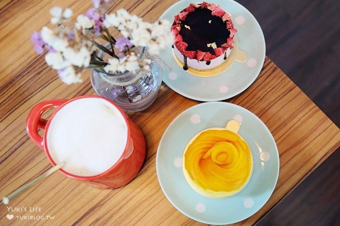 台北民生社区甜点店【BoKa】隐密的转角华丽下午茶×下午三点之后甜点较多哟! - yukiblog.tw