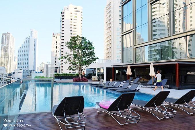 曼谷新開時尚平價飯店推薦【Novotel Bangkok Sukhumvit 20】無邊際泳池兒童親子友善飯店(Asok站、Sukhumvit站)