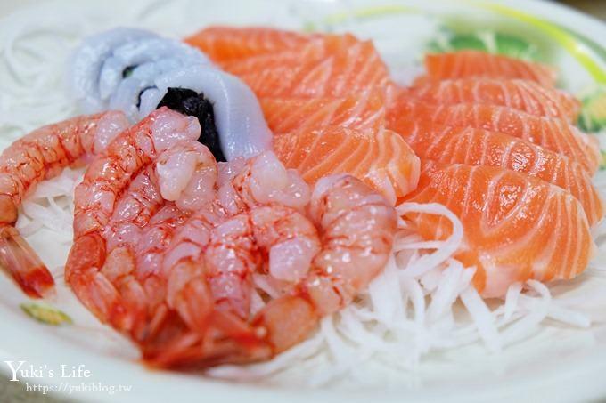 和平岛玩水顺游美食》荣生鱼片~必吃平价海鲜×老饕推荐新鲜美味