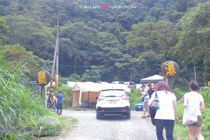 南投埔里【聽瀑營地】溪邊玩水烤肉、露營、野餐、小孩親子一日遊景點 - yukiblog.tw
