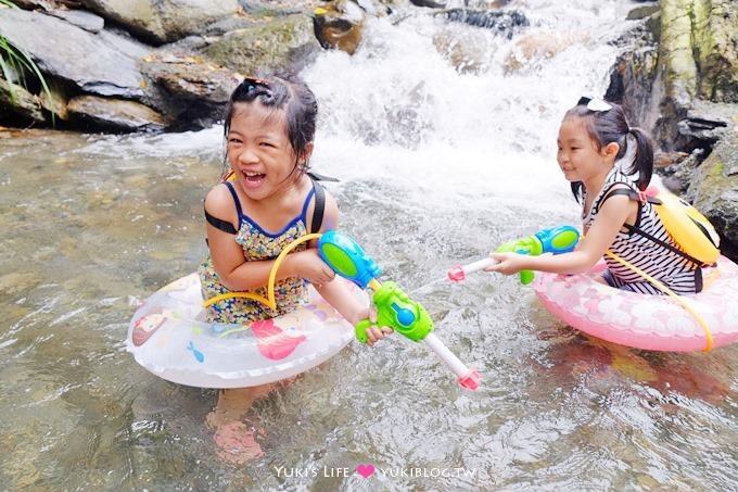 南投埔里【聽瀑營地】溪邊玩水烤肉、露營、野餐、小孩親子一日遊景點