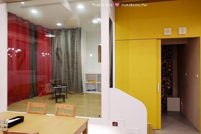 台北親子餐廳┃大直Moooon Spring Cafe & Play ~ 決明子沙池真棒! @近美麗華.捷運劍南路站 - yukiblog.tw