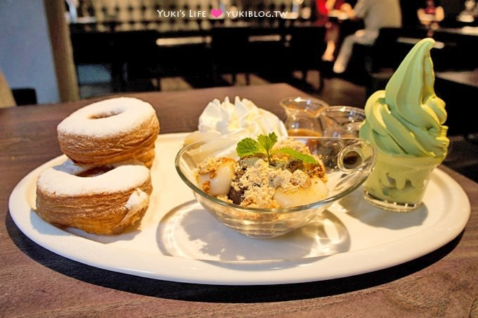 台北【瓦法奇朵waffogato】松菸店新开幕.牛排、可颂甜甜圈、特餐均买一送一