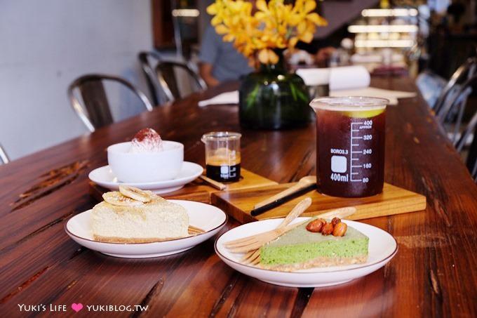 新竹【百分之二咖啡2/100CAFE】燒杯飲料×一百種味道姐妹店×台南老宅風下午茶