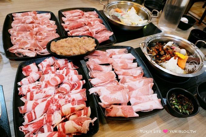 台中逢甲商圈美食【禾鍋子美味鍋物】$259五種肉品無限供應吃到飽火鍋