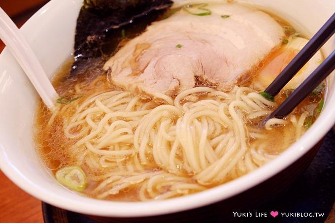 大阪美食【支那そば●拉麵餃子館】醬油拉麵有脆筍份量足 @阿倍野Q's MALL - yukiblog.tw