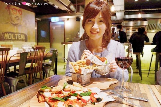 台北東區【SQUARE方披薩】用剪的多料羅馬方形PIZZA(Square Pizza al Taglio方)@忠孝復興站 - yukiblog.tw