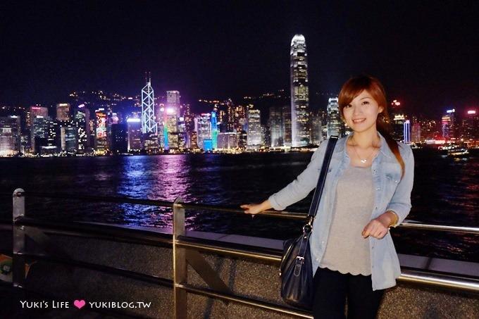 香港自由行【維多利亞港】這次總算看到幻彩詠香江了! @尖沙咀、尖東站 - yukiblog.tw