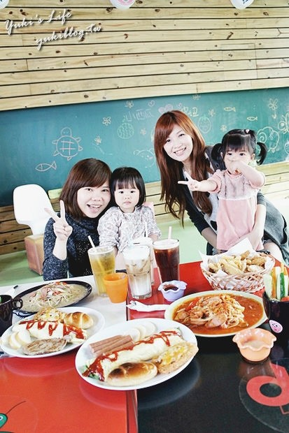 [台南兩天一夜好好玩*2*] 【台南市】V66親子塗鴨餐廳 ❤ 價格平實的溜小孩空間 - yukiblog.tw
