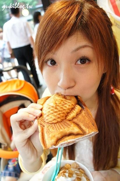 [2011韓國‧首爾行2+1]*6* happysopong 해피소뿡이 超大雕魚燒+冰淇淋 (惠化‧大學路上) (有路線圖) - yukiblog.tw