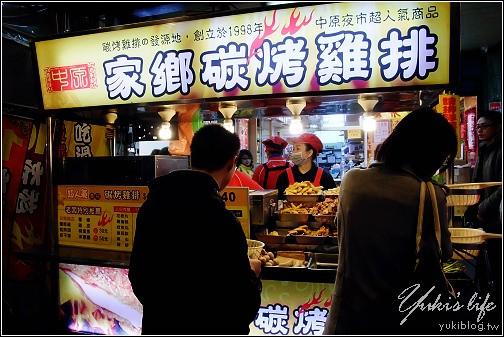 [桃園-食]*忘了第幾訪の中原夜市-家鄉碳烤雞排+小櫃子滷味+品都港式碳烤… - yukiblog.tw